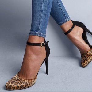 NWT Apt 9 cheetah leopard print stiletto heel 7.5